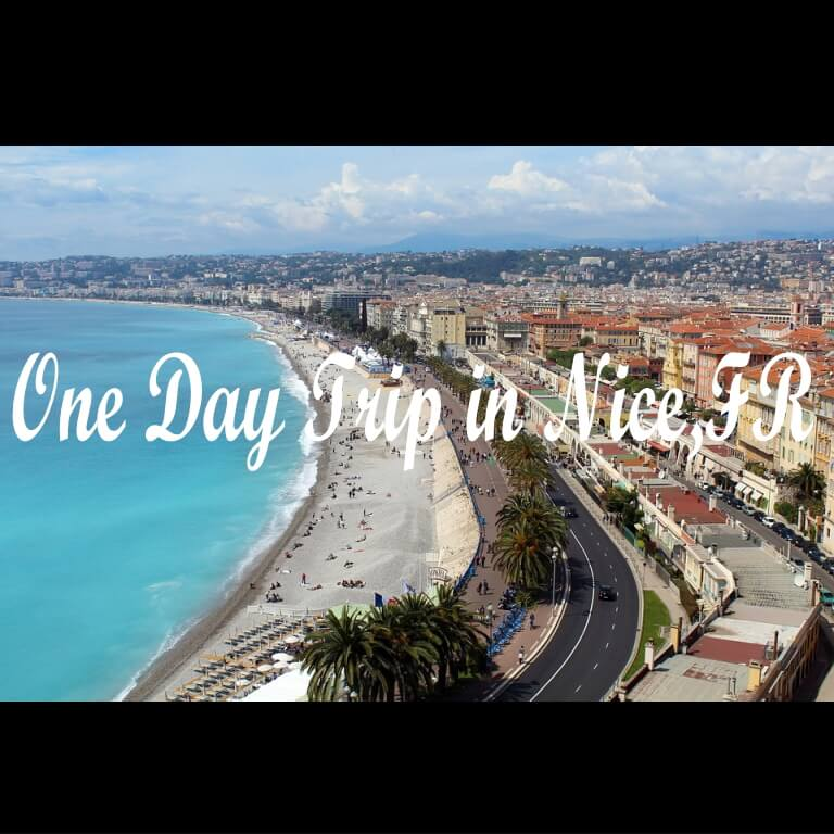 One Day Trip in Nice,FR