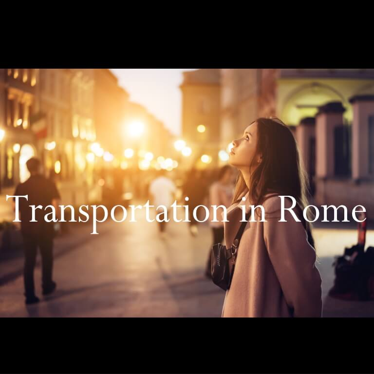 Transportation in Rome
